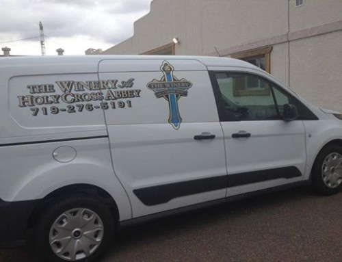 Abbey Winery gets a New Van